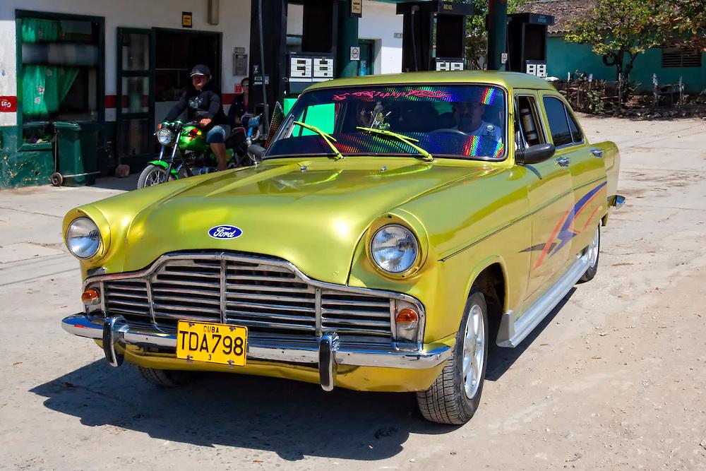 Old Ford in Velasco, Holguin, Cuba.
