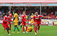 Crawley Town v Yeovil Town 28/09/2014