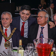 Ibrahim Dogus guests attends the 5th British Kebab Awards with honourable guest Cllr Saleha Jaffer, The Mayor of Lambeth and The Lord Bilimoria presents the awards at Park Plaza Westminster ,London,UK. by See Li