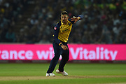 Cameron Delport of Essex Eagles batting during the Vitality T20 Finals Day 2019 match between Worcestershire County Cricket Club and Essex County Cricket Club at Edgbaston, Birmingham, United Kingdom on 21 September 2019.