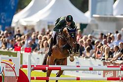 MENEZES Eduardo (BRA), H.Big Action<br /> Aachen - CHIO 2019<br /> Sparkassen-Youngsters-Cup - FINALE<br /> Springprüfung für junge Pferde mit Stechen<br /> 20. Juli 2019<br /> © www.sportfotos-lafrentz.de/Stefan Lafrentz