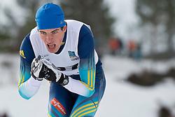 REPTYUKH Ihor, UKR, Short Distance Biathlon, 2015 IPC Nordic and Biathlon World Cup Finals, Surnadal, Norway