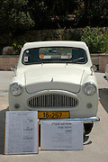 vintage car, Tel Aviv fair grounds and convention centre, Israel,