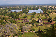 Laos, Champasak. Vat Phou Buddhist temple.