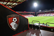 General view of the Vitality Stadium ahead of the EFL Cup 4th round match between Bournemouth and Norwich City at the Vitality Stadium, Bournemouth, England on 30 October 2018.