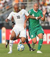 Andre Ayew (Ghana) vs Sofiane Feghouli (ALG)