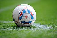 FUSSBALL   1. BUNDESLIGA   SAISON 2011/2012   34. SPIELTAG SV Werder Bremen - FC Schalke 04                       05.05.2012 Fussball Allgemein: Adidas und DFL Spielball Torfabrik