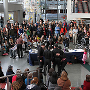 """Seattle Opera hosts the """"Barber of Seattle"""" hairstyle, shave and beard competition at McCaw Hall on January 8, 2011."""