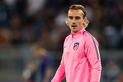 Antoine Griezmann of Club Atletico de Madrid during the UEFA Champions League group C match match between AS Roma and Atletico Madrid on September 12, 2017 at the Stadio Olimpico in Rome, Italy.
