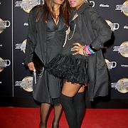 NLD/Amsterdam/20120217 - Premiere Saturday Night Fever, Jetty Weels en partner