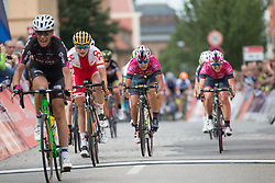 Katarzyna Pawlowska (POL) of Polish National Team finishes in third place  on Stage 3 of the Lotto Thuringen Ladies Tour - a 124 km road race, starting and finishing in Weimar on July 15, 2017, in Thuringen, Germany. (Photo by Balint Hamvas/Velofocus.com)