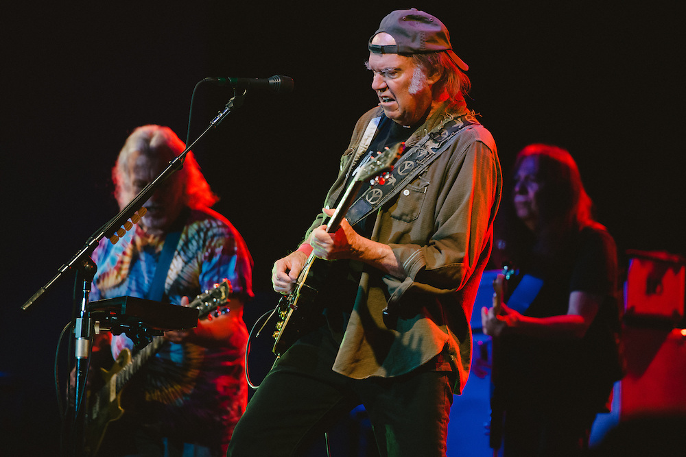 Photos of Neil Young & Crazy Horse performing live at Laugardalshöll for ATP Iceland in Reykjavík, Iceland. July 7, 2014. Copyright © 2014 Matthew Eisman. All Rights Reserved