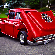 1956 Custom Chevrolet Step-Side Pick Up Truck