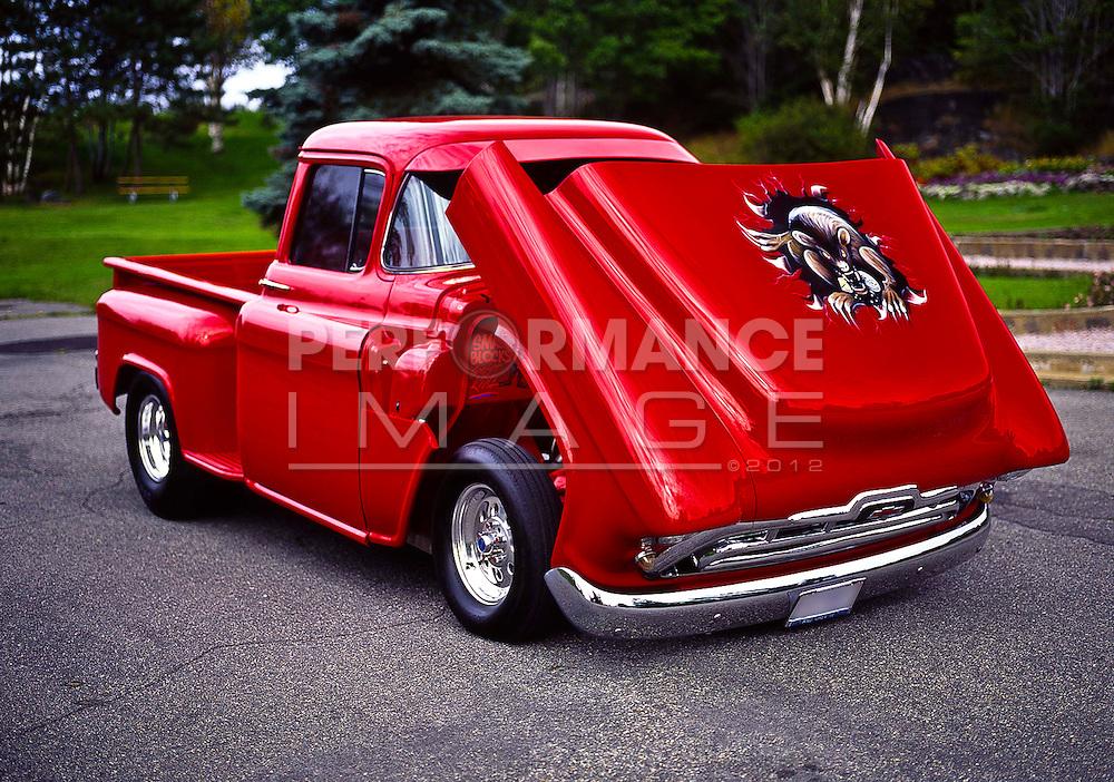 1956 Custom Chevrolet Step-Side Pick Up Truck