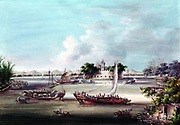68-1533).  Left on River. Macao one of the Treaty Ports that were among concessions China made to European nations after the end of the First Opium War (1839-42)