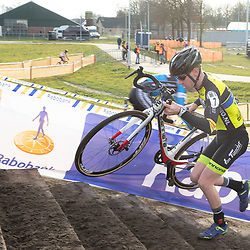 11-01-2020: Wielrennen: NK Veldrijden: Rucphen <br />Daan de Jonge