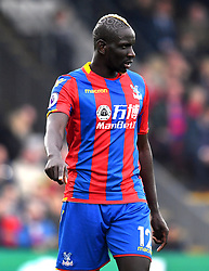 Crystal Palace's Mamadou Sakho during the Premier League match at Selhurst Park, London.
