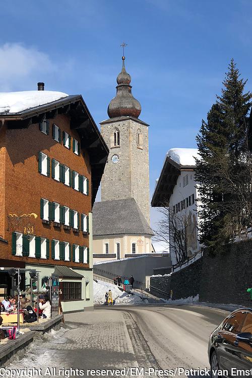Lech 2018, dag voor de jaarlijkse fotosessie met de Koninklijke familie in Lech