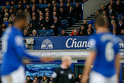West Ham Manager Sam Allardyce looks on from the stands in the first half - Photo mandatory by-line: Rogan Thomson/JMP - 07966 386802 - 06/01/2015 - SPORT - FOOTBALL - Liverpool, England - Goodison Park - Everton v West Ham United - FA Cup Third Round Proper.