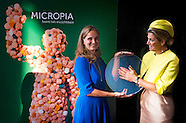 QUEEN MAXIMA OPENS NEW MUSEUM MICROPIA