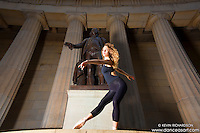 Federal Hall Wall Street Dance As Art New York City Photography Project featuring Manon Hallay