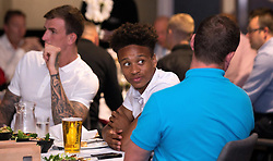 Bobby Reid of Bristol City mingles with guests during the Lansdown Club event - Mandatory by-line: Robbie Stephenson/JMP - 06/09/2016 - GENERAL SPORT - Ashton Gate - Bristol, England - Lansdown Club -