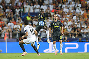 Blaise Matuidi of Juventus FC during the UEFA Champions League, Group H football match between Valencia CF and Juventus FC on September 19, 2018 at Mestalla stadium in Valencia, Spain - Photo Manuel Blondeau / AOP Press / ProSportsImages / DPPI