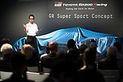 Shigeki Tomoyama, GR Super Sport Concept<br /> TOYOTA GAZOO  Racing. <br /> Le Mans 24 Hours Race, 11th to 17th June 2018<br /> Circuit de la Sarthe, Le Mans, France.
