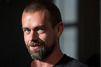 Jack Dorsey, co-founder and chief executive officer of Square Inc., and co-founder and chief executive officer of Twitter Inc., speaks during an interview in San Francisco, California, U.S., on Thursday, March 2, 2017. Electronic-payment company, Square Inc., is offering a range of new services, including loans and software that lets customers manage inventory and analyze sales. Photographer: David Paul Morris