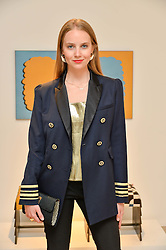 PETRA PALUMBO at a private view of Bright Young Things held at the David Gill Gallery, 2-4 King Street, London on 19th April 2016.