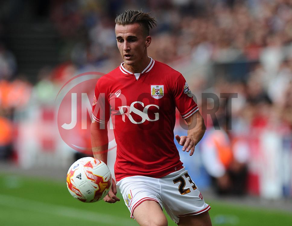 Joe Bryan of Bristol City  - Mandatory byline: Joe Meredith/JMP - 07966386802 - 29/08/2015 - FOOTBALL - Ashton Gate -Bristol,England - Bristol City v Burnley - Sky Bet Championship
