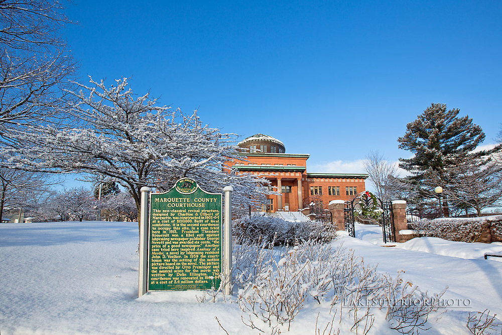 Marquette County Courthouse, Marquette, Michigan, Anatomy of a Murder, John Voelker