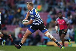 Robert du Preez of Western Province spreads the ball wide during the Currie Cup Premier Division match between the DHL Western Province and the Pumas held at the DHL Newlands rugby stadium in Cape Town, South Africa on the 17th September  2016<br /> <br /> Photo by: Shaun Roy / RealTime Images