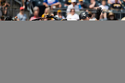 May 28, 2018 - Pittsburgh, PA, U.S. - PITTSBURGH, PA - MAY 28:   during an MLB game between the Pittsburgh Pirates and Chicago Cubs on May 28, 2018 at PNC Park in Pittsburgh, PA. (Photo by Shelley Lipton/Icon Sportswire) (Credit Image: © Shelley Lipton/Icon SMI via ZUMA Press)