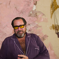 "Julian Schnabel during the press preview of Julian Schnabel - ""Permanently Becoming And The Architecture Of Seeing"" part of 54th International Art Biennale in Venice"