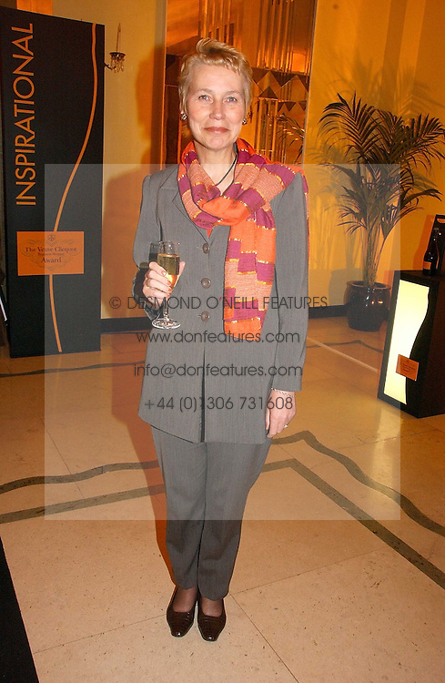 VIRGINIA BOTTOMLEY at a reception for the winners of the 2006 Veuve Clicquot Award - Business Woman of the Year held at Claridge's Hotel, brook Street, London on 27th April 2006.  This years winner was Vivienne Cox, BP CEO for Gas, Power, Renewables and Integrated Supply & Trading.  The awards were presented by the Rt.Hon.Gordon Brown MP - The Chancellor of the Exchequer.<br /><br /><br />NON EXCLUSIVE - WORLD RIGHTS