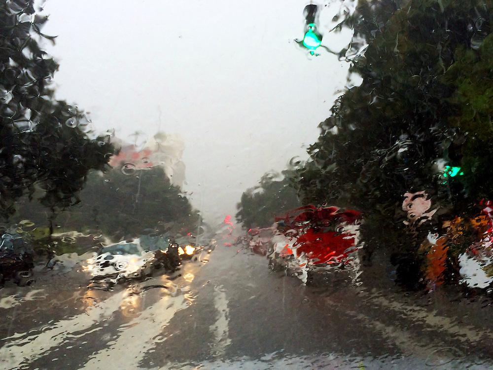 Jackson Square New Orleans Louisiana Rain