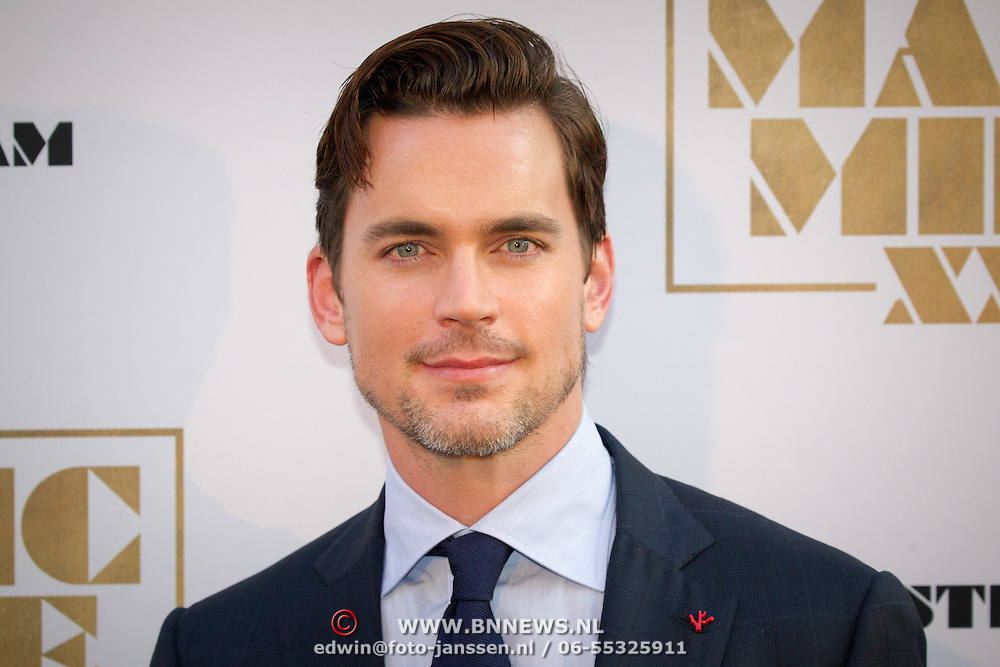 NLD/Amsterdam/20150701- Film premiere Magic Mike XXL, Matt Bomer