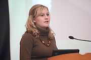 18516Appalachian Scholars Open House reception 12/10/07..Elizabeth Wolfe....Appalachian Scholars program: A Q&A.Information session scheduled tonight.Dec. 10, 2007.By George Mauzy..The Athens campus will host its third annual Appalachian Scholars information session for high school students and parents at 7 p.m. today in the Baker University Center Ballroom. Organizers will outline the program's requirements and answer questions...In anticipation of tonight's event, Outlook asked Associate Provost for Appalachian Access and Enrichment Programs Richard Greenlee to share his thoughts about the program. But first, some background...The Appalachian Scholars award, now in its second year, is a need-based, renewable four-year scholarship award valued at $10,000 each year. It includes an annual book stipend and participation in a yearly leadership seminar...The university has 20 Appalachian Scholars on five campuses, including 12 on the Athens campus and two on each regional campus except Lancaster, which is not in one of Ohio's 29 Appalachian counties. This fall's class of 10 recipients was chosen from more than 150 applicants...Last year's Appalachian Scholars information session, the first large-scale public event held in the new University Center, attracted more than 200 people. A similar crowd is expected tonight...The Eastern campus will host its info session at 6 p.m. Wednesday in Shannon Hall. The Chillicothe and Southern campuses have already held their sessions, and one is expected to be scheduled on the Zanesville campus in January...Why is the Appalachian Scholars program important?..It demonstrates the university's commitment to families and communities in the 29-county region by helping high school students attain a college education...The program teaches students and their families how to navigate the educational experience. It promotes economical sustainability and social mobility by providing the students with an education and developing their leadership q