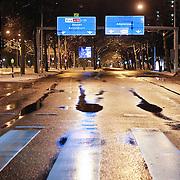 NLD/Amsterdam/20101129 - Nachtelijk straten gemeente Amsterdam, Beneluxbaan