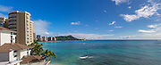 Diamond Head, Waikiki Beach, Oahu, Hawaii