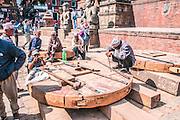 woodwork, Bhaktapur, Nepal