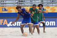 Football-FIFA Beachsoccer World Cup 2006-Group C- Solomon- Training sessionRio de Janeiro Brazil-31/10/2006.<br /> Mandatory credit: Photocamera/Marco Antonio Rezende.