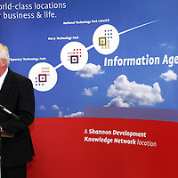 John Quinlevin of Shannon Development at the official opening of the new Ennis' Information Age Park<br /> <br /> Photograph by Yvonne Vaughan.