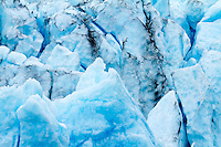 Close Up of Aialik Glacier Ice, Kenai Fjords National Park, Alaska