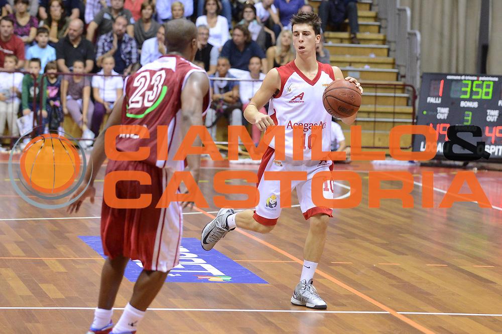 DESCRIZIONE : Trieste Campionato Lega A2 2012-2013 Acegas Trieste Aget Service Imola <br /> GIOCATORE : michele ruzzier<br /> CATEGORIA :  palleggio<br /> SQUADRA : Acegas Trieste Aget Service Imola <br /> EVENTO : Campionato Lega A2 2012-2013<br /> GARA : Acegas Trieste Aget Service Imola <br /> DATA : 07/10/2012<br /> SPORT : Pallacanestro <br /> AUTORE : Agenzia Ciamillo-Castoria/M.Gregolin<br /> Galleria : Lega Basket A2 2012-2013 <br /> Fotonotizia : Trieste Campionato Lega A2 2012-2013 Acegas Trieste Aget Service<br /> Predefinita :