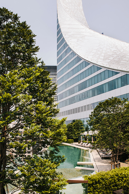 Pool and exterior, Park Hyatt Bangkok