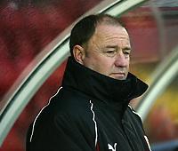 Photo: Aidan Ellis.<br /> York City v Bristol City. The FA Cup. 11/11/2006.<br /> Bristol's manager