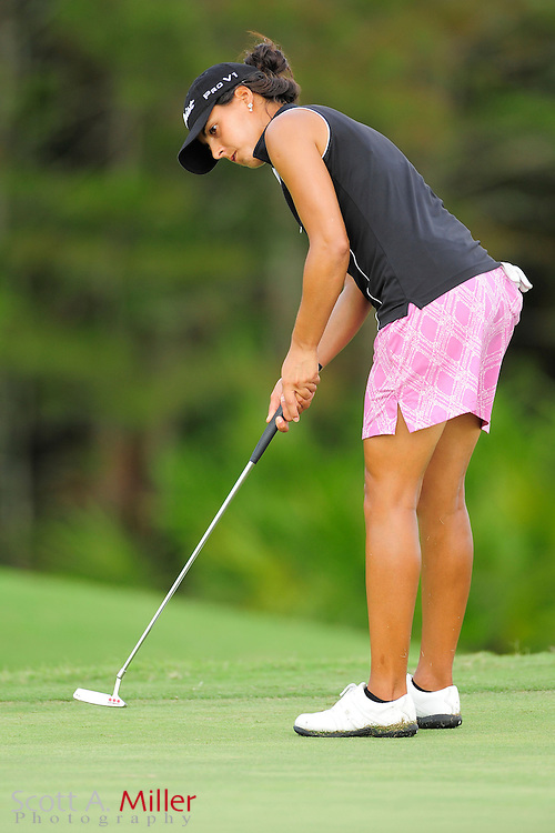 Martina Gavier in action during the Daytona Beach Invitational  at LPGA International on Sept. 29, 2012 in Daytona Beach, Florida...©2012 Scott A. Miller