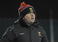 Mayo manager Stephen Rochford during the league encounter against Kerry at McHale Park Castlebar,<br /> Pic Conor McKeown